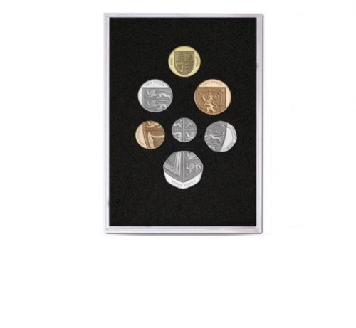 QEII Proof Quality Coin Set of 2008