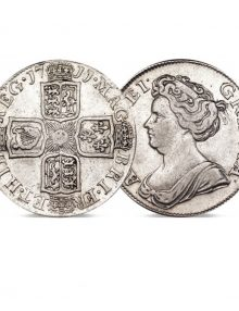 Image of the Queen Ann Silver Shilling