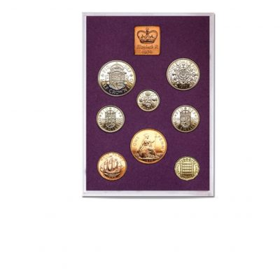 The Queen Elizabeth II Proof Quality Coin Set of 1970