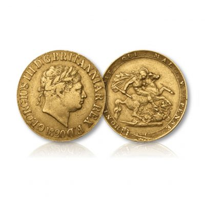 King George III Gold Sovereign 1817-1820