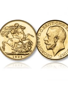 Image of King George V Gold Sovereign of the London Mint of 1925