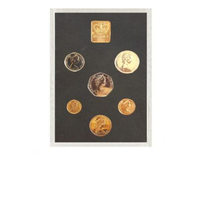 The Queen Elizabeth II Proof Coin Set 1971