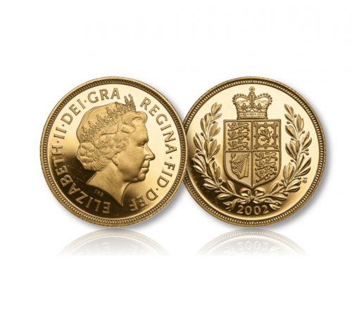 Image of The Queen Elizabeth II Gold Sovereign of 2002