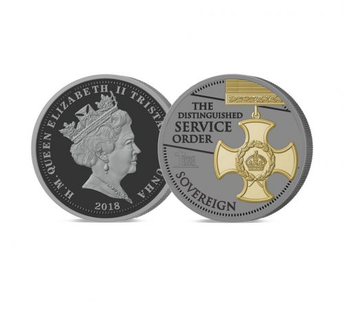 2018 Armistice Centenary Remembrance Gold Gallantry Sovereign