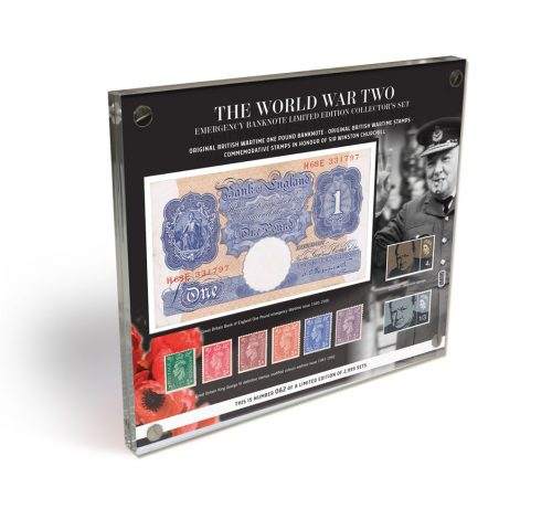 Image ot The WWII Emergency Banknote and Stamp Limited Edition Set