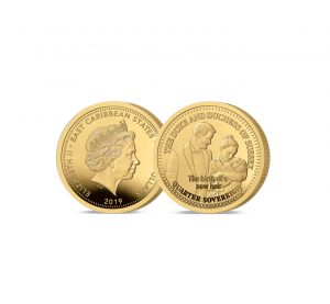 The 2019 Birth of a Royal Heir Gold Quarter Sovereing