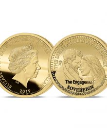 Image of the 2019 The Engagement Gold Sovereign