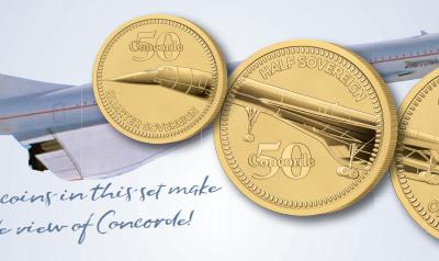 The 2019 Concorde 50th Anniversary Prestige Set