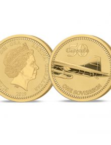 Image of The 2019 Concorde 50th Anniversary Gold Sovereign