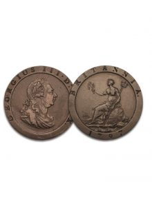 The George III Britannia Penny of 1797