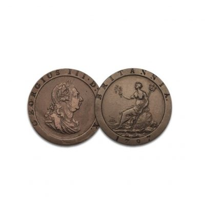The George III Britannia Penny of 1797