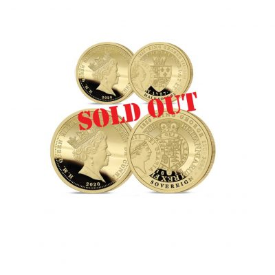 George III Half and Full Sovereign Set Sold Out