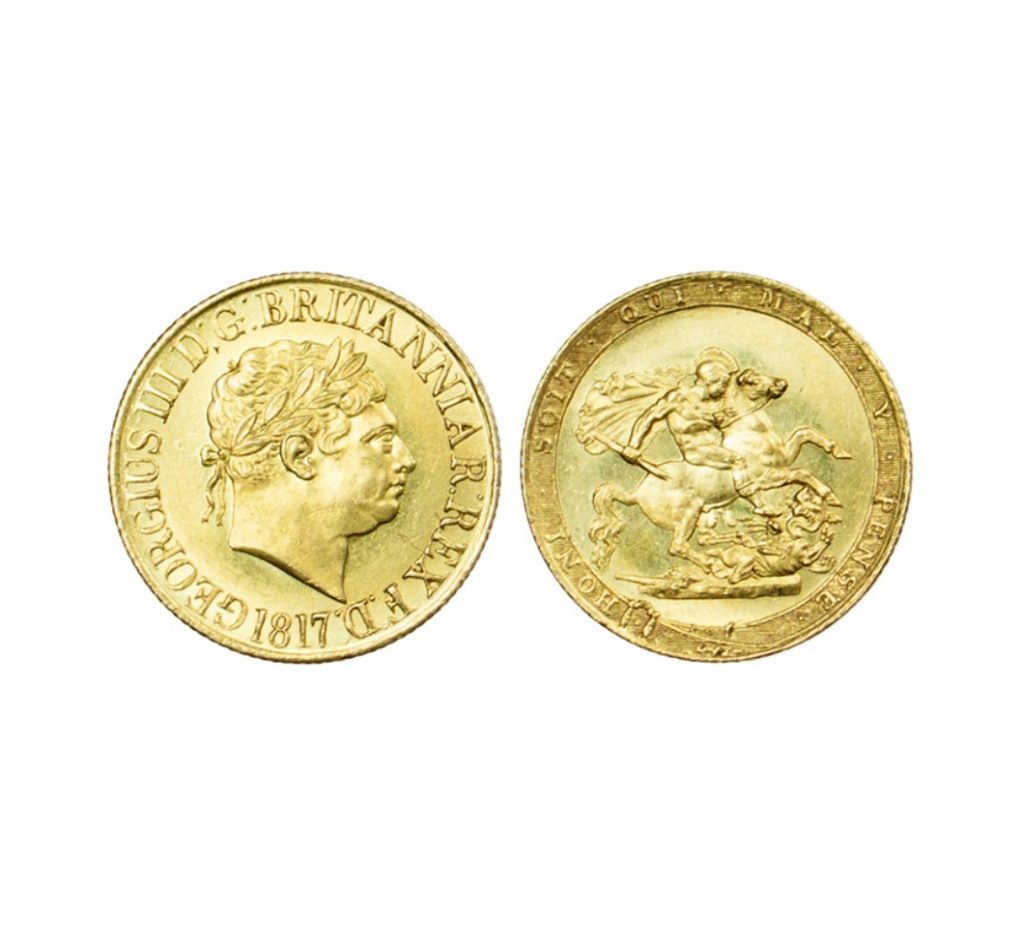 The King George III Gold Sovereign 1817