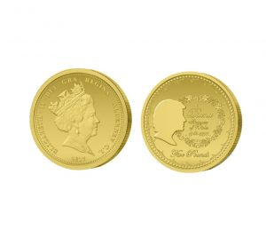 The Diana, Princess of Wales 2017 Five Pound Gold Coin (Struck on the Day Only)