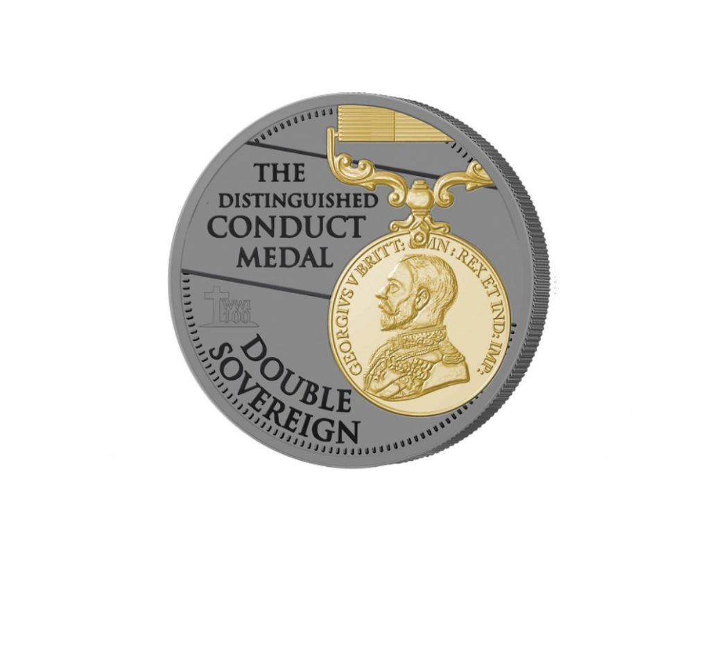 The 2018 Armistice Centenary Remembrance Gold Gallantry Double Sovereign