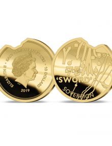 The 2019 Heroes of Sword Beach Gold Sovereign image