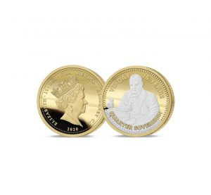 The 2020 VE Day 75th Anniversary Gold Quarter Sovereign