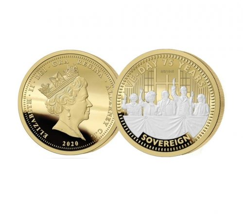 The 2020 VE Day 75th Anniversary Gold Sovereign