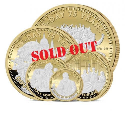 The 2020 VE Day 75th Anniversary Gold Definitive Sovereign Set - SOLD OUT