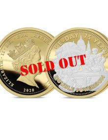 The VE Day 75th Anniversary Gold Double Sovereign has sold out