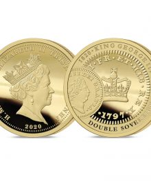 The 2020 George III 200th Anniversary Heritage Gold Five Pound Sovereign