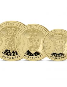 The George III 200th Anniversary Gold Prestige Set