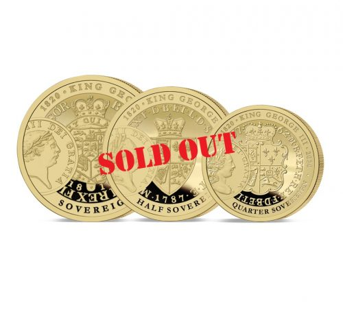George III Prestige Sovereign Set SOLD OUT