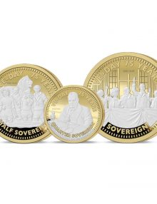 THE 2020 VE DAY 75TH ANNIVERSARY GOLD PRESTIGE SOVEREIGN PROOF SET