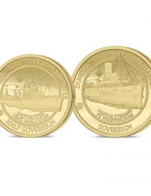 The 2020 Dunkirk 80th Anniversary Gold Half and Full Set