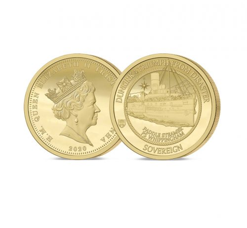 The 2020 Dunkirk 80th Anniversary Gold Sovereign