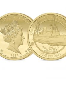 The 2020 Dunkirk 80th Anniversary Gold Five Pound Sovereign