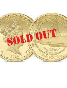Dunkirk 80th Anniversary Gold Five Pound Sovereign - SOLD OUT