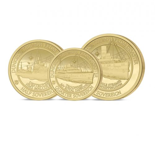 The 2020 Dunkirk 80th Anniversary Gold Prestige Sovereign Set