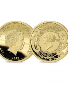 The 2019 New Zealand's First Ever Gold Sovereign