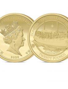The 2020 Dunkirk 80th Anniversary Gold Twenty Pound Sovereign