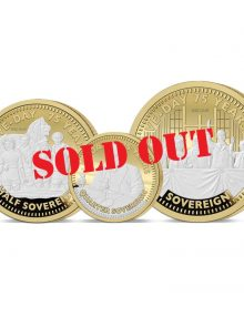 The VE Day 75th Anniversary Gold Prestige Sovereign Set- SOLD OUT