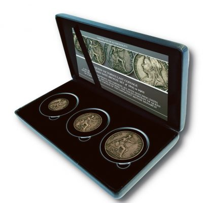 The Queen Victoria 1895-1901 Veiled Portrait 3 coin Set