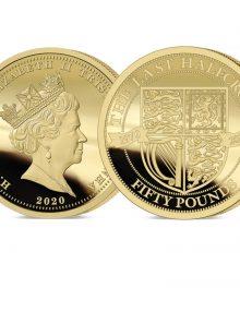 The 2020 Pre-decimal 50th Anniversary Gold £50 Sovereign