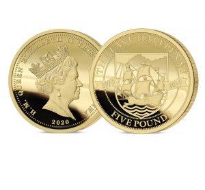 The 2020 Pre-decimal 50th Anniversary Gold Five Pound Sovereign