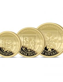 The 2020 Pre-decimal 50th Anniversary Gold Fractional Sovereign Set