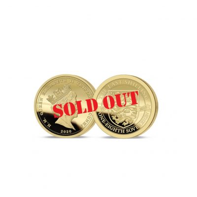 The 2020 Pre-decimal Gold One Eighth Sovereign has now SOLD OUT