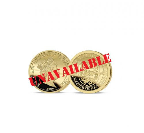 The 2020 Pre-decimal 50th Anniversary One-Eighth Sovereign - Sold Out