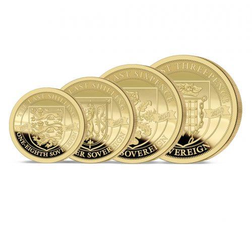 The 2020 Pre-decimal 50th Anniversary Gold Prestige Sovereign Proof Set