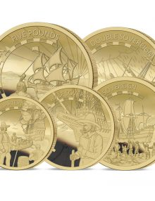 The 2020 Mayflower 400th Anniversary Gold Definitive Sovereign Set