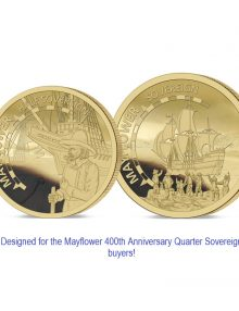 The 2020 Mayflower 400th Anniversary Gold Infill Set