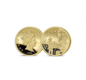 The 2020 Mayflower 400th Anniversary Gold Quarter Sovereign