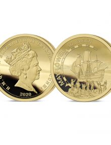 The 2020 Mayflower 400th Anniversary Gold Sovereign