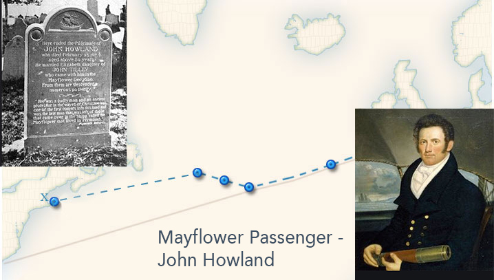 mayflower voyage john howland