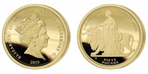 The 2019 Queen Victoria 200th Anniversary Gold Fifty Pound Sovereign