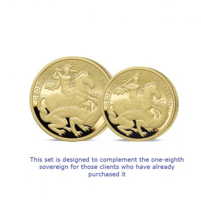 The 2021 George and the Dragon 200th Anniversary Gold Fractional Infill Set